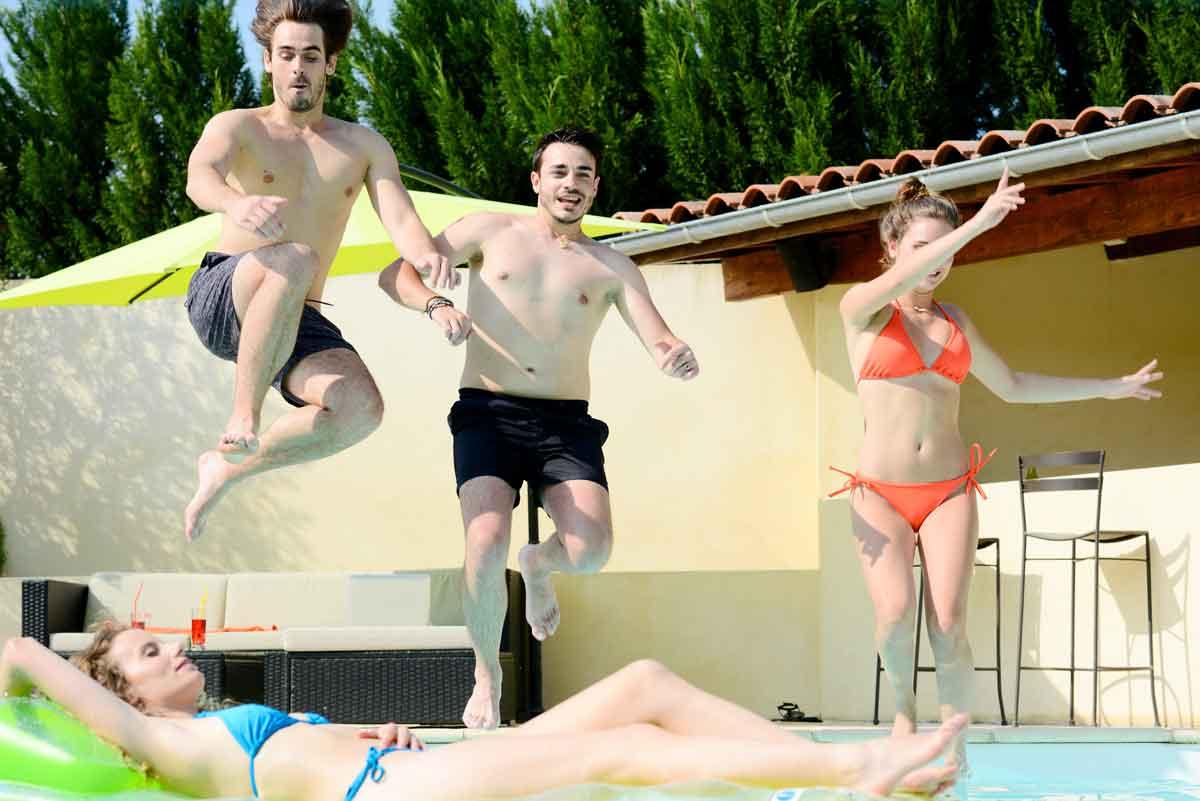 vakantiehuis met privezwembad