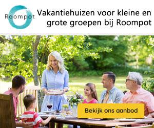 grote vakantiehuizen roompot banner